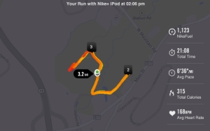 First 5K Run of the Year 01-01-2014