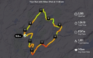 First Long Run of the Year 01-04-2014