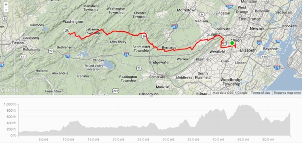 Memorial Day 2014 - My First 50 Mile Bike Ride